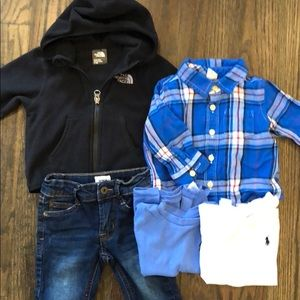 Designer baby boy bundle